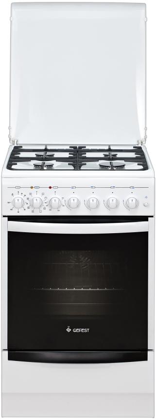 Плита Gefest 5102-03 0023, комбинированная, белый