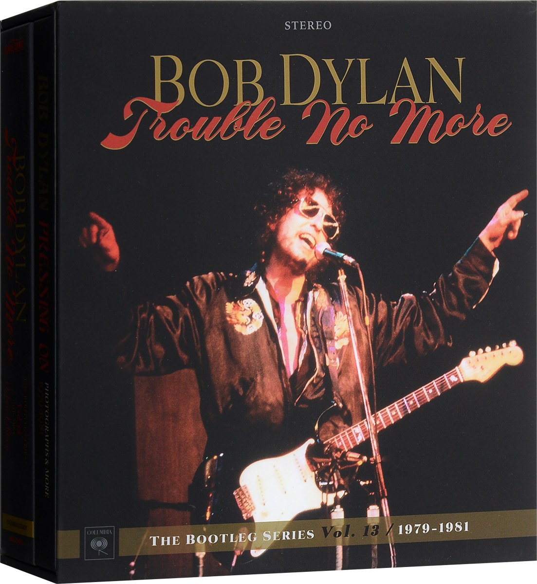 Фото - Боб Дилан Bob Dylan. The Bootleg Series. Vol. 13. Trouble No More. 1979-1981. Deluxe Edition (8 CD + DVD) cd led zeppelin ii deluxe edition