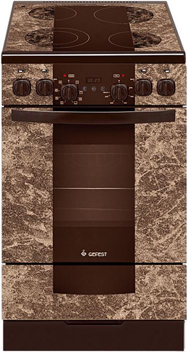 Электрическая плита Gefest 5560-03 0001, 2050, brown