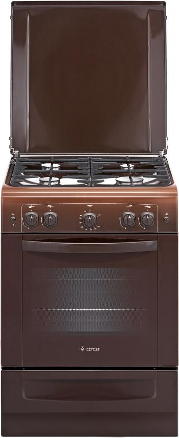 Газовая плита Gefest 6100-02 0010, 37826, brown gefest 6100 02 0010