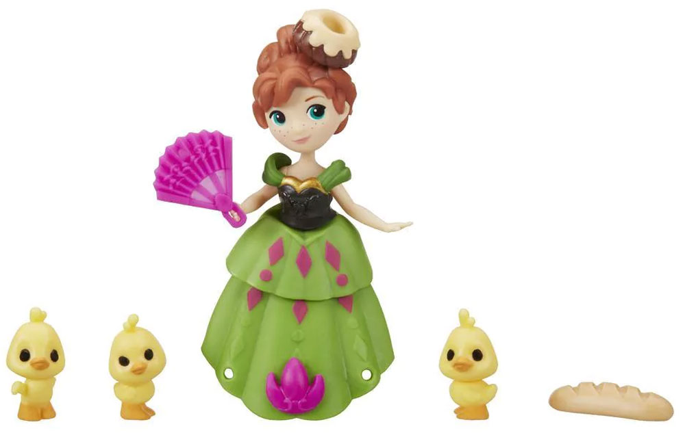 Disney Frozen Мини-кукла Anna's Arendelle Adventure цена и фото