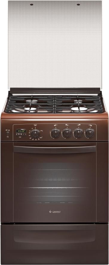 цена на Плита Gefest 6100-04 0003, газовая, коричневый