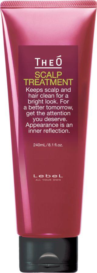 Lebel TheO Scalp Treatment Крем-уход для кожи головы и волос, 240 мл