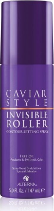 Alterna Caviar Style Invisible Roller Contour Setting Spray Спрей для создания локонов Как на бигуди, 147 мл alterna масло для волос bamboo smooth kendi pure treatment 50ml