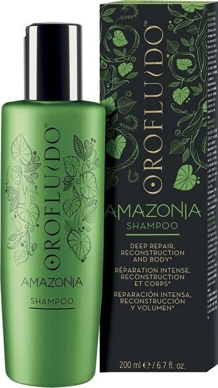 Orofluido Amazonia Shampoo Шампунь для ослабленных и поврежденных волос, 200 мл