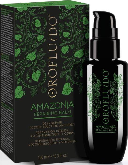 Orofluido Amazonia Repairing Balm Несмываемый восстанавливающий бальзам для ослабленных и поврежденных волос, 100 мл