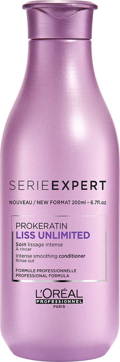 L'Oreal Professionnel Liss Unlimited Conditioner Смываемый уход для гладкости непослушных волос, 200 мл