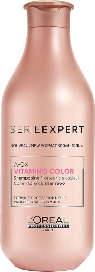 L'Oreal Professionnel Expert Vitamino Color AOX Shampoo Шампунь-фиксатор цвета для окрашенных волос, 300 мл набор l oreal professionnel vitamino color шампунь 300 мл смываемый уход 200 мл
