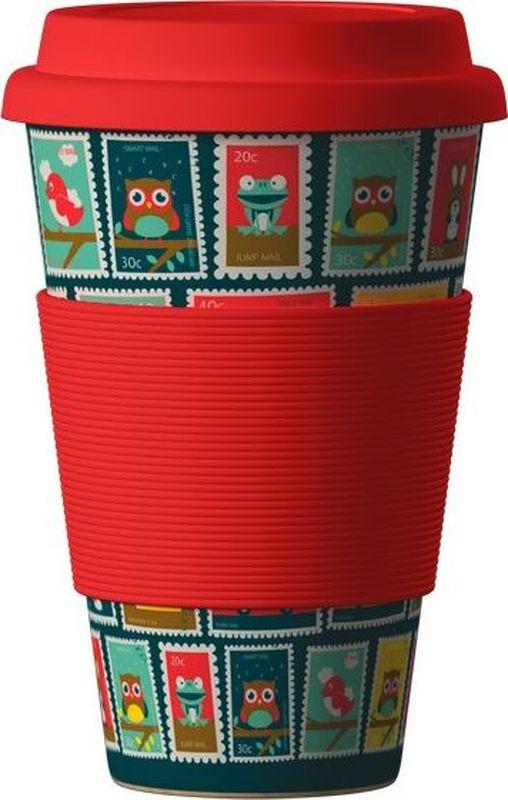 Стакан BambooCup Марки, экологичный, 400 мл кружка дорожная areon bamboocup 280 470