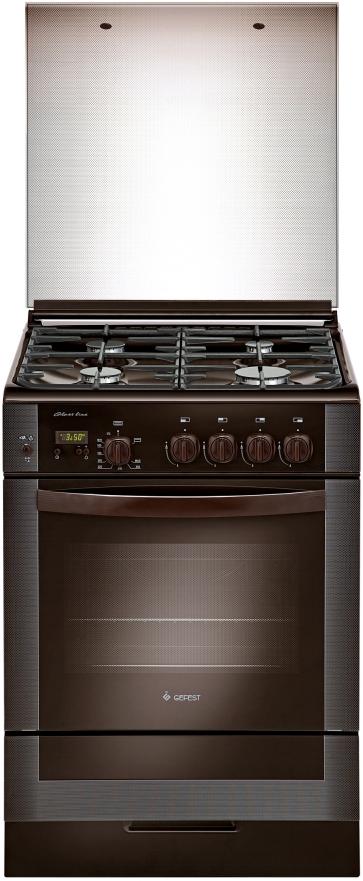 Плита Gefest 6300-03 0047, газовая, коричневый
