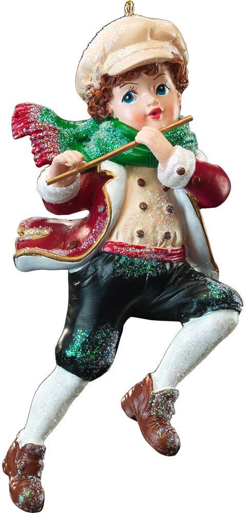 Украшение для интерьера новогоднее Erich Krause Юный музыкант, 11 см. 41210 украшения в стиле канзаши
