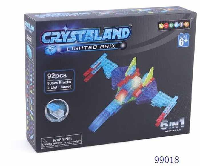 Crystaland Конструктор Самолет 6 в 1 цена 2017