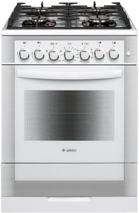 Газоэлектрическая плита Gefest 6502-02 0042, 25882, white