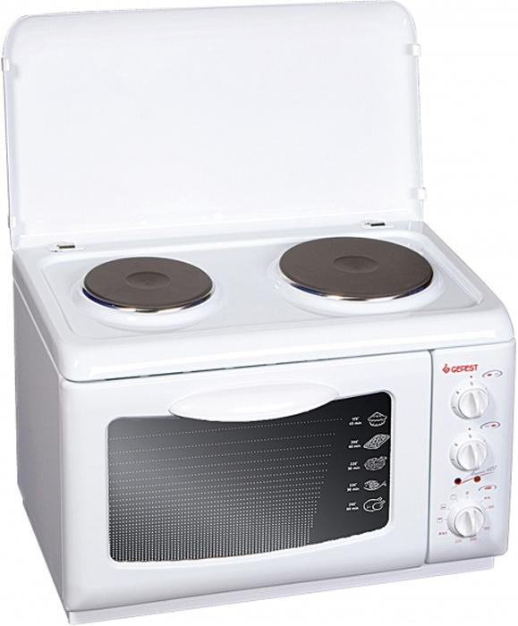 Настольная плита Gefest ЭП Нс Д 420, электрическая, белый Gefest