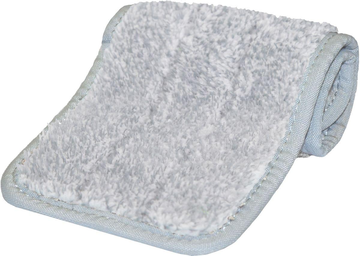 цена на Насадка сменная на швабру Hausmann Care Clean, из микрофибры, цвет: серый, 34,5 х 12,3 см (к швабре HM-38)