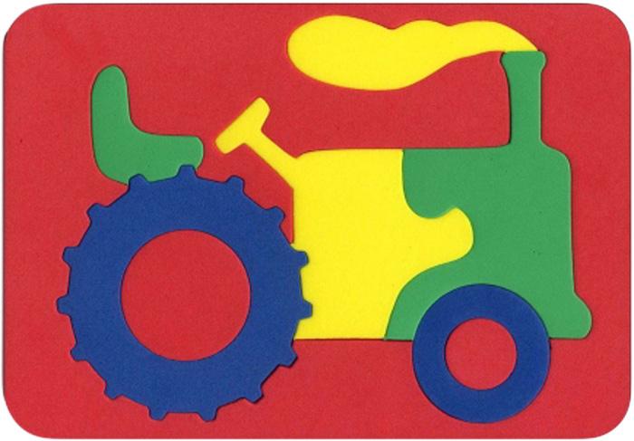 Бомик Пазл для малышей Трактор цены
