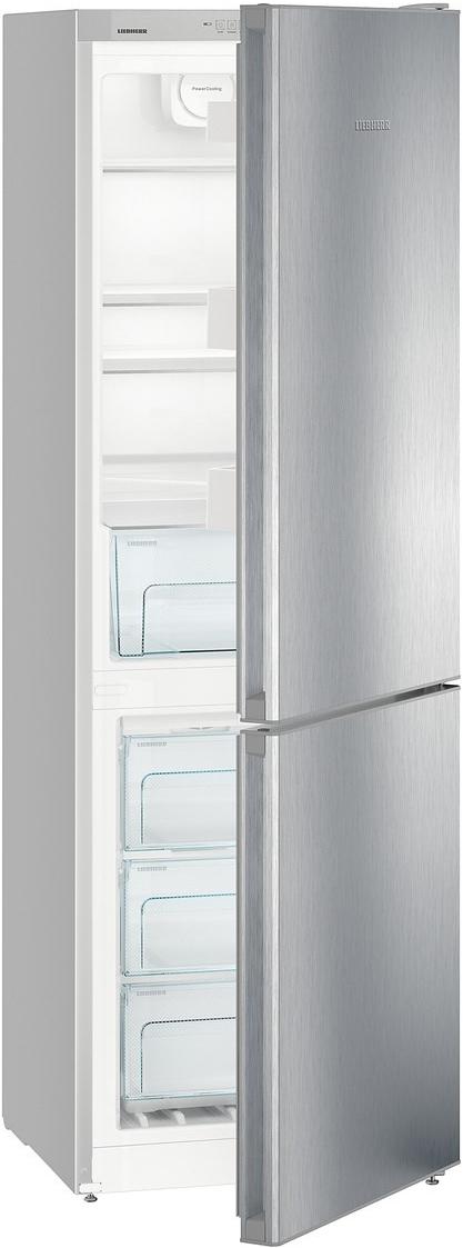 Двухкамерный холодильник Liebherr CNPel 4313-21 001, серебристый