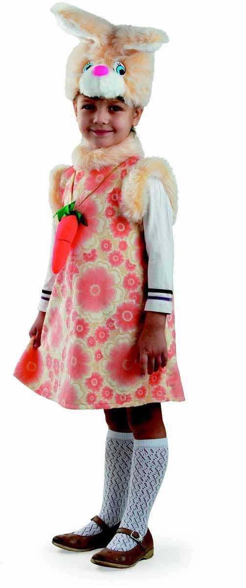 Батик Карнавальный костюм для девочки Зайка Липси размер 28 батик костюм карнавальный для девочки зайка зоська размер 30 32