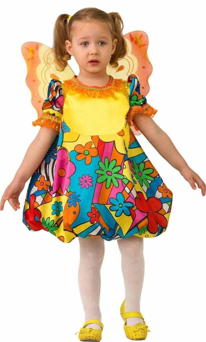 Дженис Карнавальный костюм для девочки Бабочка размер 26 дженис карнавальный костюм для девочки бабочка размер 28