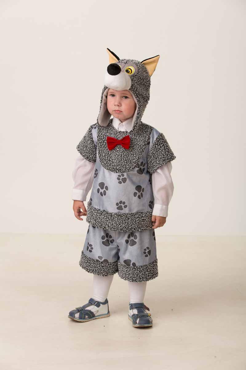 Дженис Карнавальный костюм для мальчика Волчонок Кирюшка размер 28