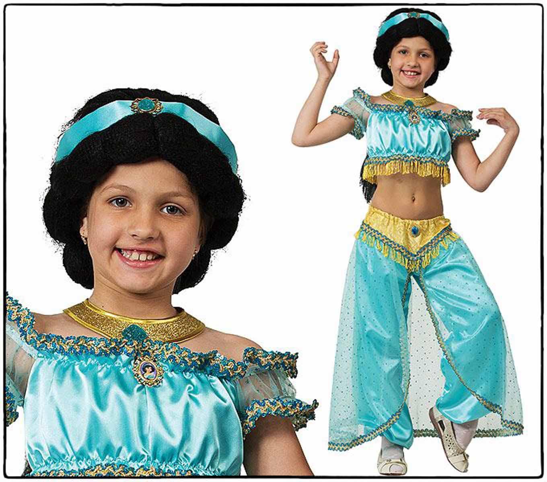 Батик Костюм карнавальный Принцесса Жасмин размер 28 карнавальный костюм jeanees зайка капризка цвет голубой размер 24