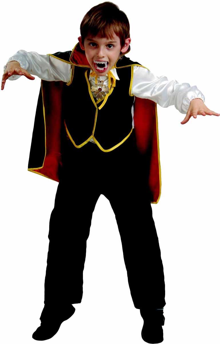 Батик Костюм карнавальный для мальчика Дракула размер 32