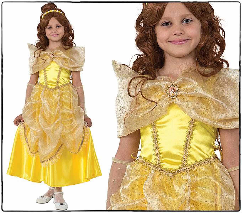 Батик Карнавальный костюм для девочки Принцесса Белль размер 28
