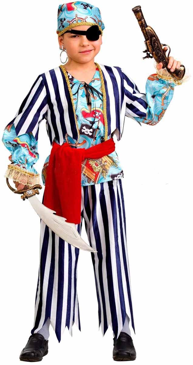 Дженис Карнавальный костюм для мальчика Пират размер 32