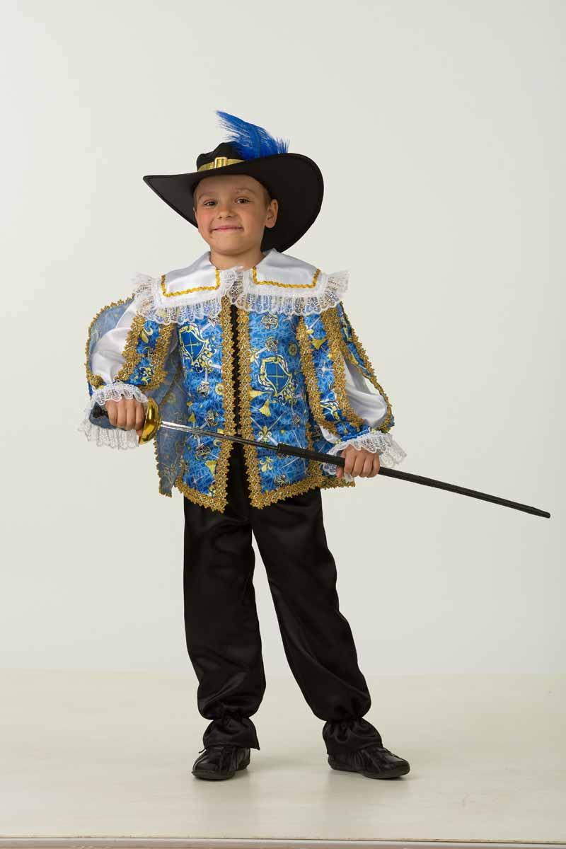 Дженис Карнавальный костюм для мальчика Мушкетер размер 30