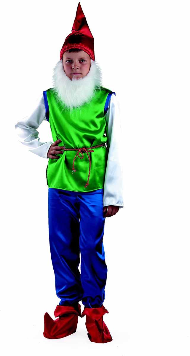Батик Карнавальный костюм для мальчика Гном размер 30 карнавальный костюм jeanees зайка капризка цвет голубой размер 24