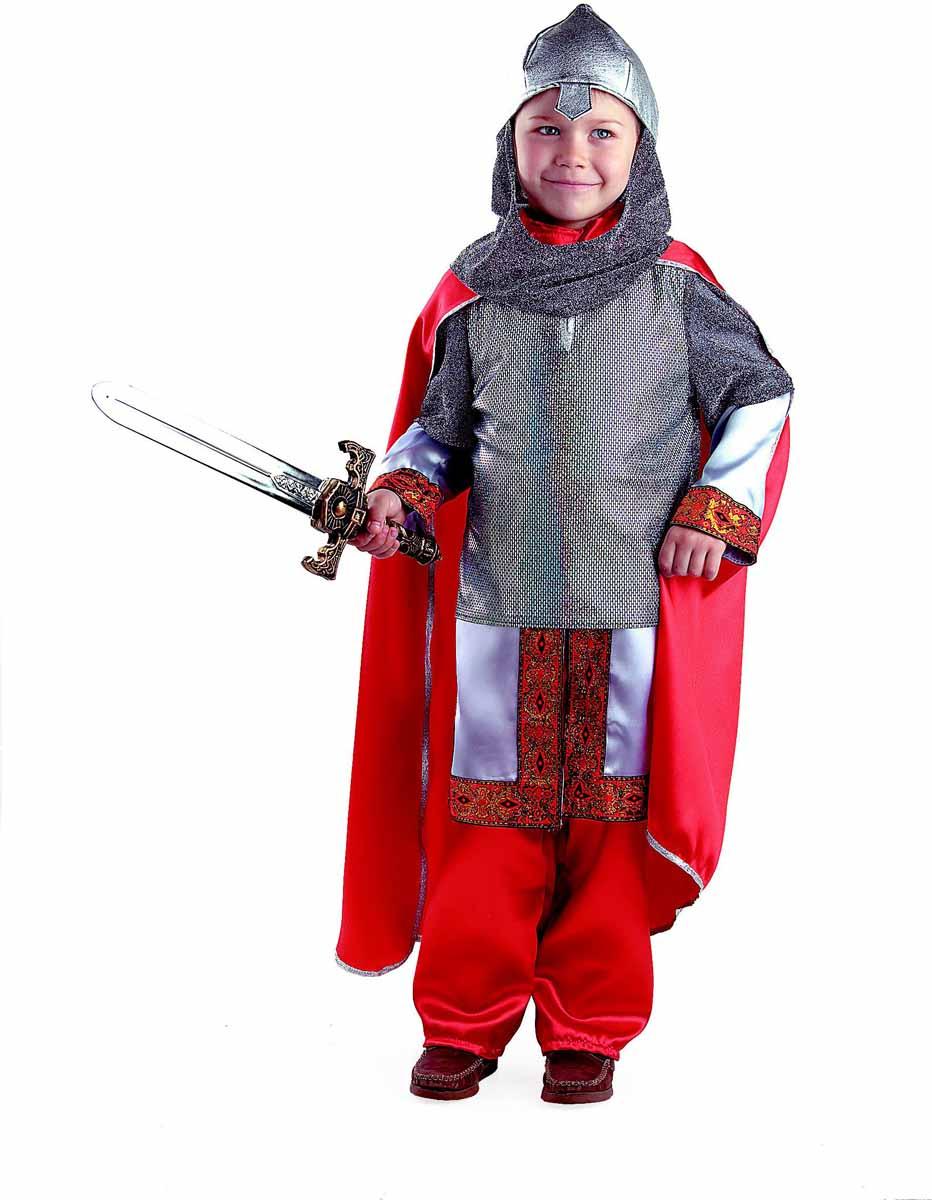 Батик Карнавальный костюм для мальчика Богатырь размер 28