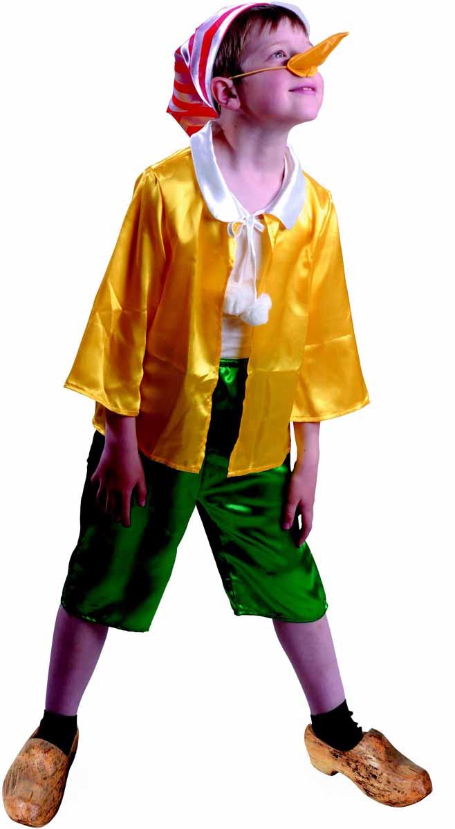 Батик Карнавальный костюм для мальчика Буратино размер 28