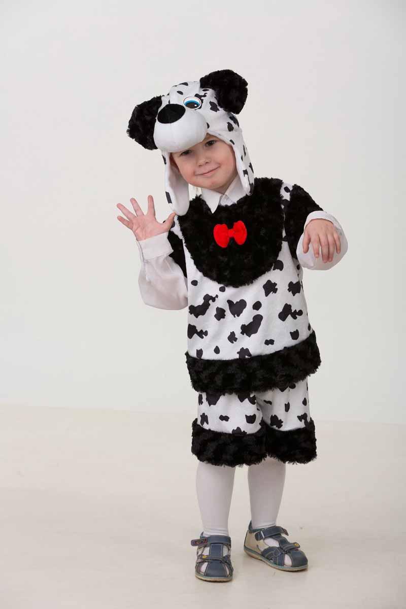 Дженис Карнавальный костюм для мальчика Далматин Баксик размер 28