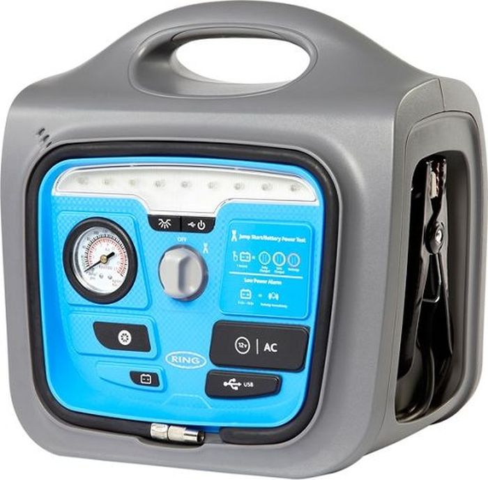 Пусковое многофункциональное устройство и источник питания Ring Automotive 17Ah Powerpack - Euro пусковое устройство и источник питания ring automotive repp148 9ah powerpack фонарь usb