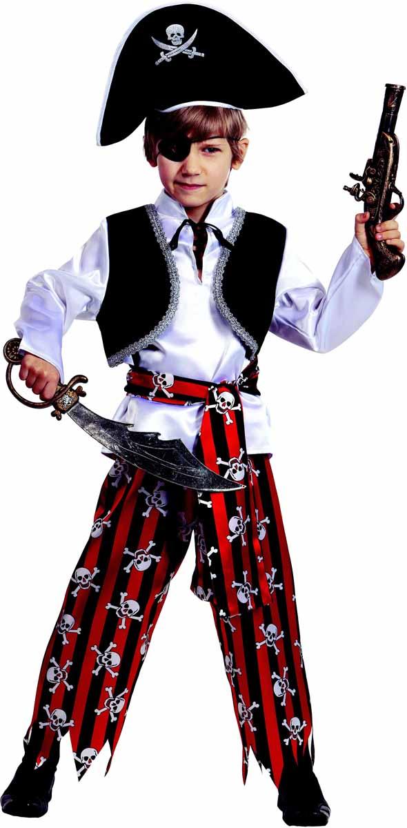Батик Карнавальный костюм для мальчика Пират размер 28