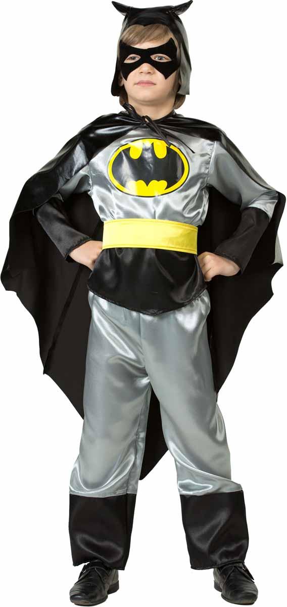 Батик Карнавальный костюм для мальчика Черный Плащ размер 32 батик костюм карнавальный для мальчика черный плащ размер 28