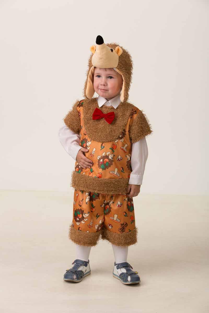 Дженис Карнавальный костюм для мальчика Ежик Коржик размер 26