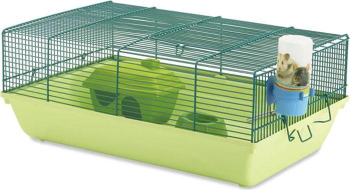 Клетка для грызунов Savic Stuart, 46,5 х 29,5 х 19 см домик для грызунов zoobaloo овал 19 х 12 х 16 см