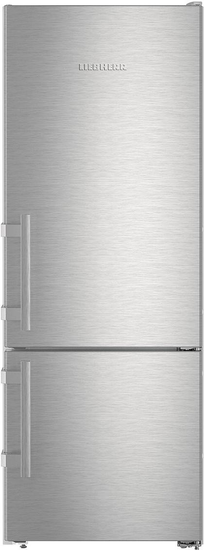 Двухкамерный холодильник Liebherr CUef 2915-20001, серебристый