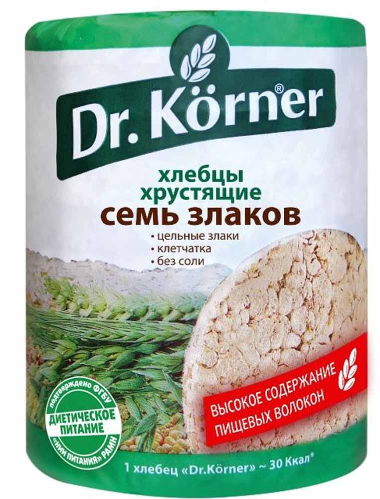 Dr. Korner Семь злаков хлебцы, 100 г dr oetker пикантфикс для грибов 100 г