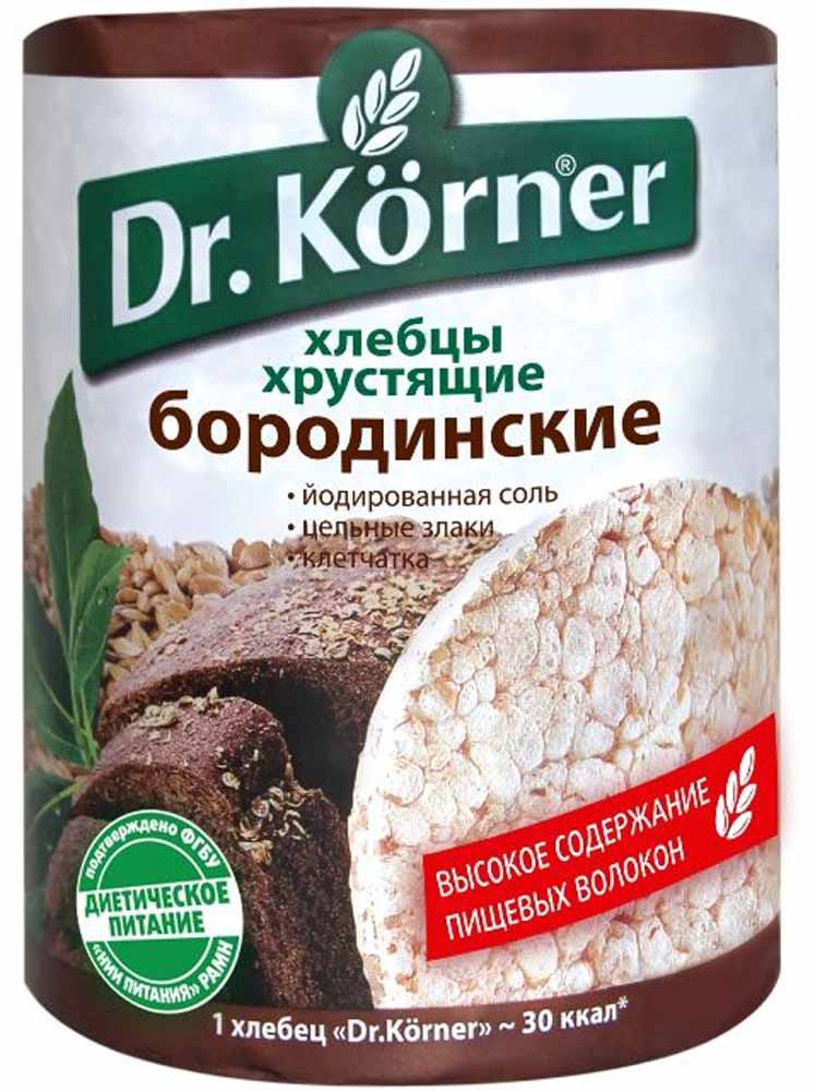 Dr. Korner Хлебцы бородинские , 100 г dr oetker пикантфикс для грибов 100 г