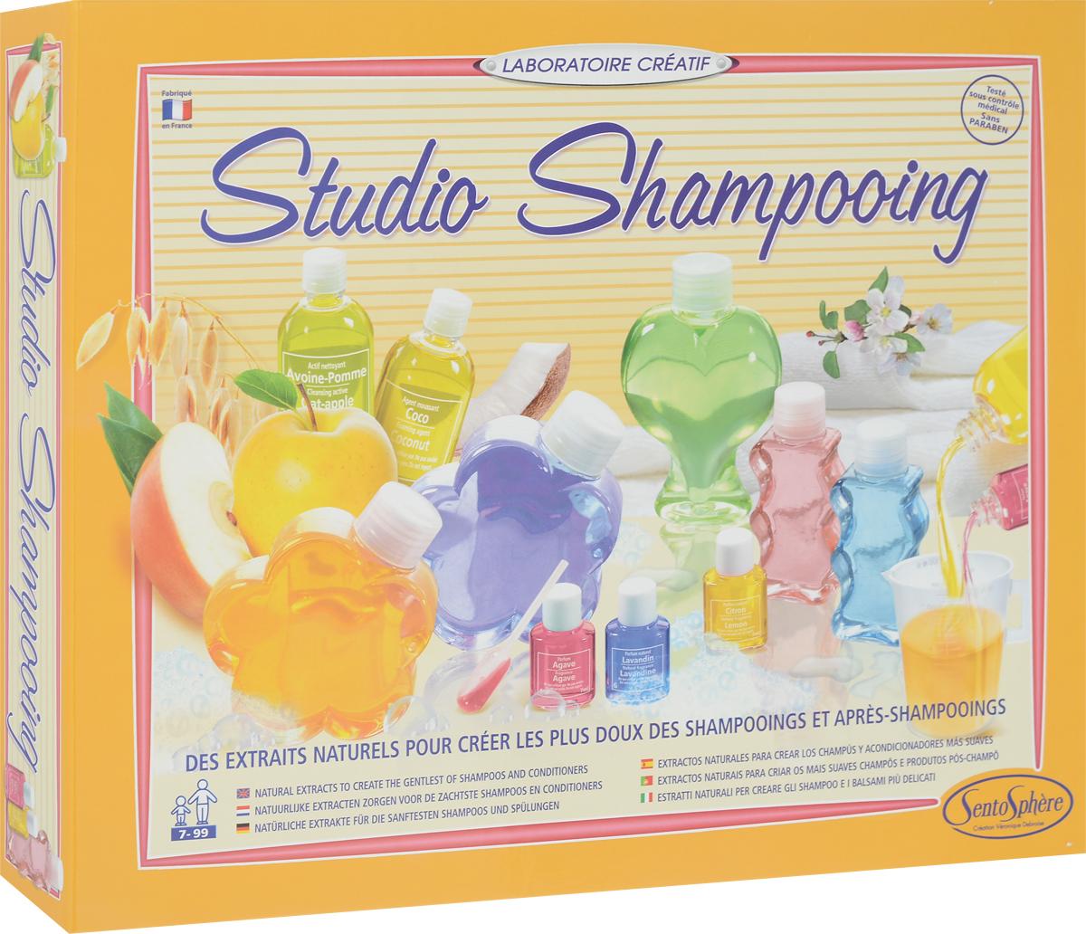 SentoSphere Набор для изготовления косметики Шампо Лаб sentosphere набор для изготовления косметики свежие ароматы