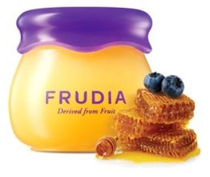купить Frudia Blueberry and Honey Увлажняющий бальзам для губ с черникой и медом, 10 г по цене 490 рублей