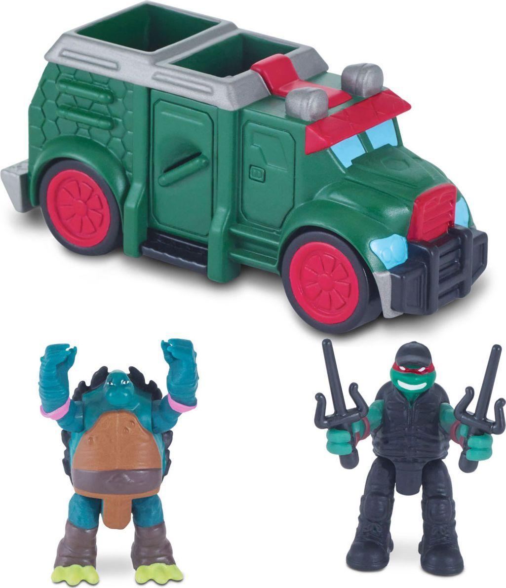 Черепашки Ниндзя Игровой набор Бронированный грузовик игровой набор черепашки ниндзя леонардо зеленый