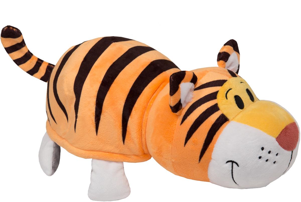 1TOYМягкая игрушкаВывернушка 2в1 Тигр-Слон длина 35 см игрушка 1toy вывернушка 2в1 тигр слон т10876