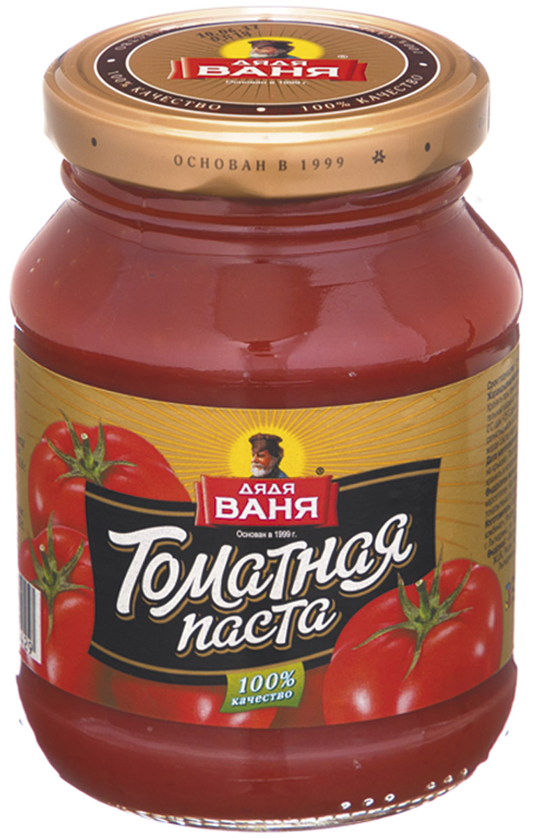 все цены на Дядя Ваня Томатная паста 25% ГОСТ, 270 г онлайн