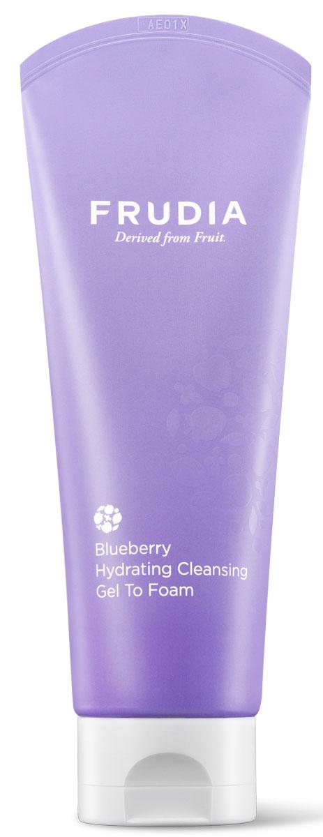 Frudia BlueberryУвлажняющая гель-пенка для умывания с черникой, 145 г Frudia