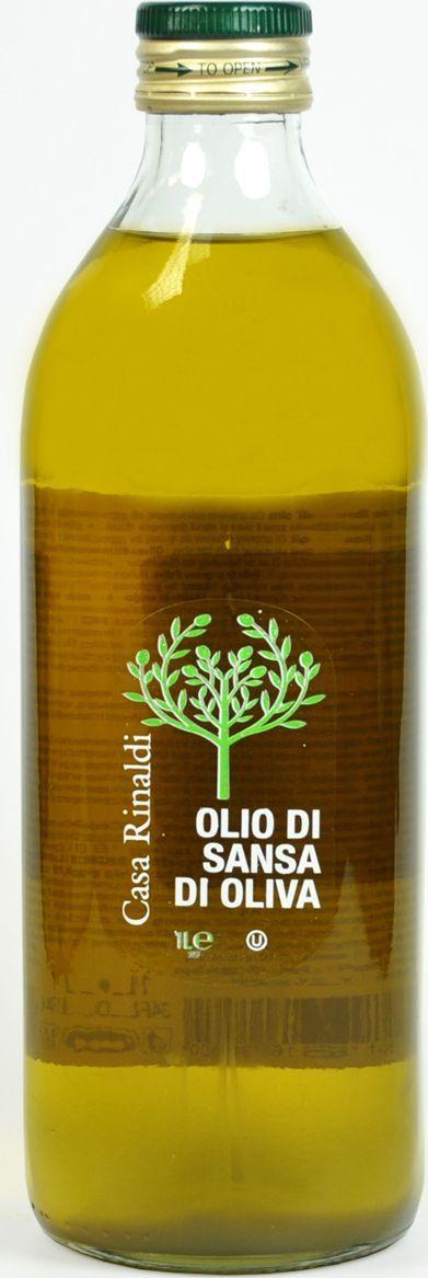 Casa Rinaldi Масло оливковое рафинированное Sansa, 1 л (стекло) дары кубани масло подсолнечное рафинированное высший сорт 1 л