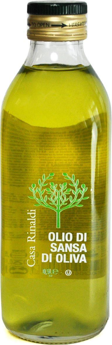 Casa Rinaldi Масло оливковое рафинированное Sansa, 500 мл (стекло) leonero оливковое масло рафинированное для жарки 500 г