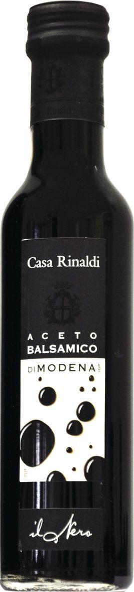 Casa Rinaldi Уксус бальзамический черная этикетка Модена, 250 мл цена и фото